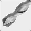Karbid Groo - V Tip® Tresorbohrer