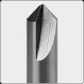 Fräser / Taster mit zylindrischem Schaft
