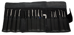 Lockpicking Set Phoenix Silver 25-tlg. - Peterson