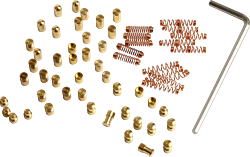 Pinning-Kit 2.0 (60-tlg.) High-Security für Multipick Trainingszylinder