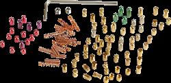 Pinning-Kit 3.0 Standard & Security (100-tlg.) für Multipick Trainingszylinder
