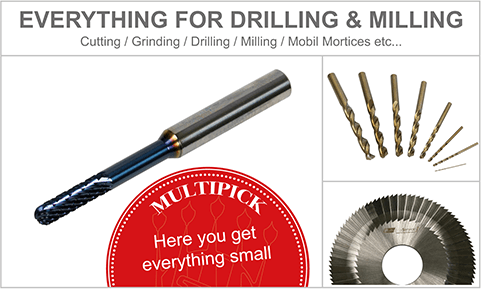 EVERYTHING FOR DRILLING & MILLING