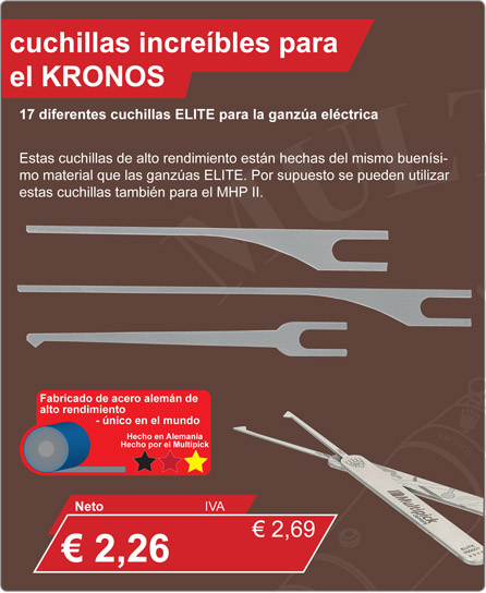 Pick needles for Kronos