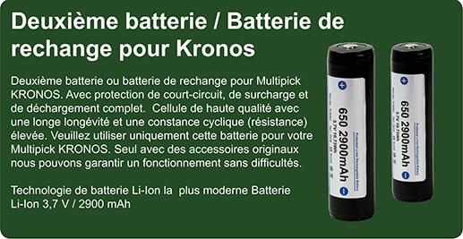 Batterie de rechange pour Kronos