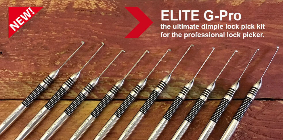 Multipick ELITE Dimple Lock Pick Sets